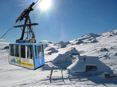 Smučišče Šimnovec, Velika planina